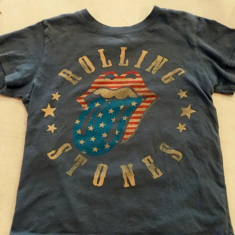 Rolling Stones Tee, Size: 4