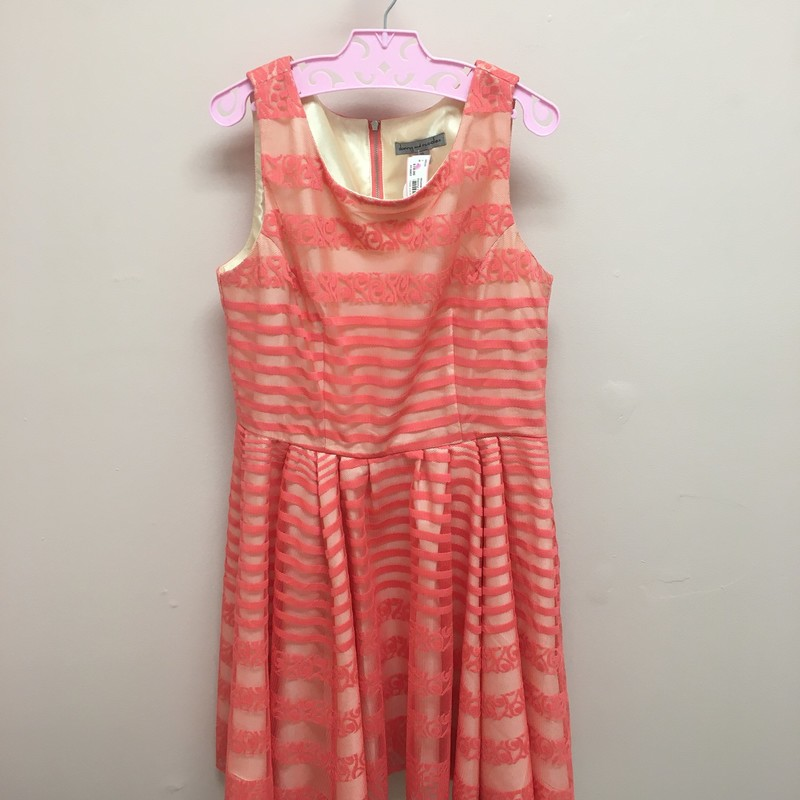 Danny & Nicole Dress, Coral, Size: 12