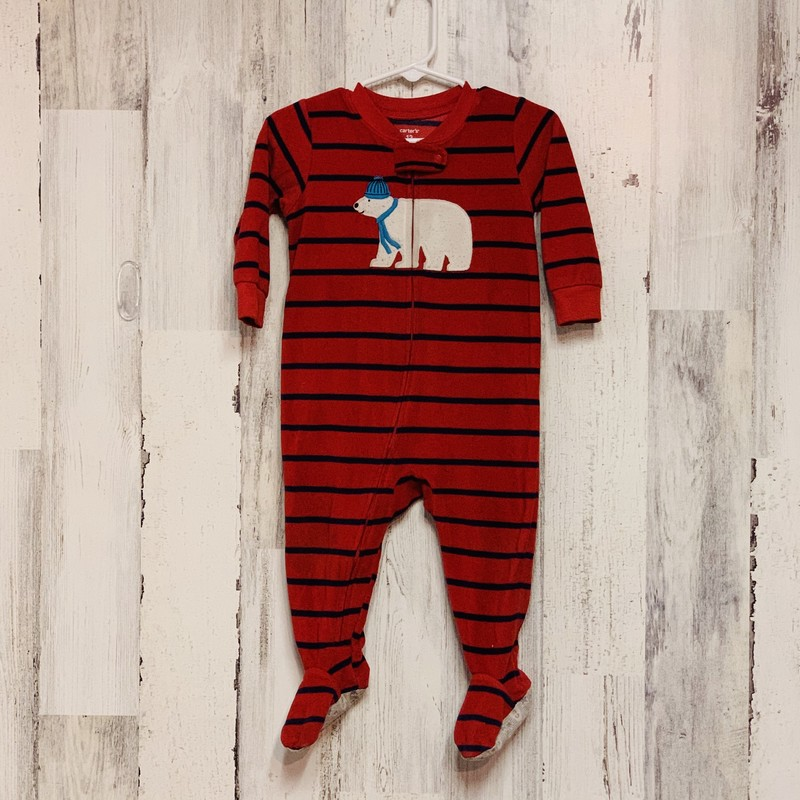 Carters, Red, Size: 12 M