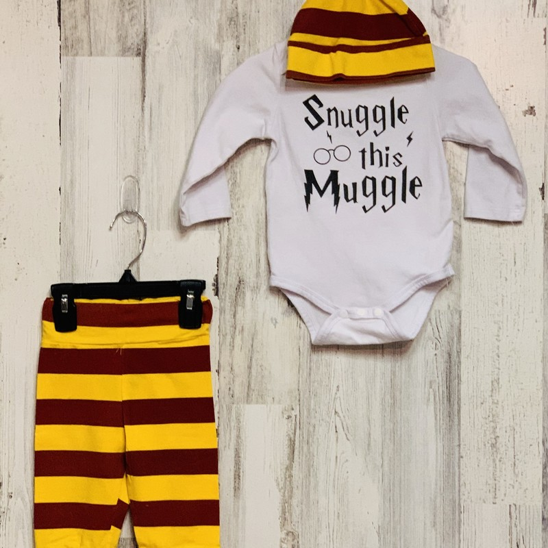 Harry Potter, Yellow, Size: 9-12 Mo