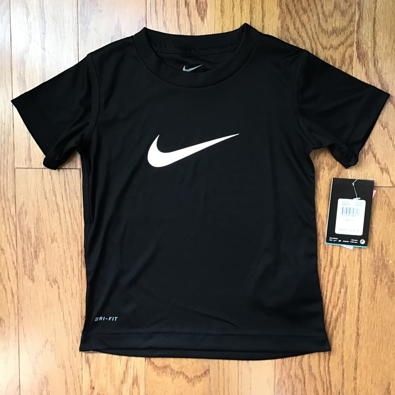 Nike Shirt NEW, Black, Size: 4<br /> <br /> <br /> new with $18 tag<br /> <br /> <br /> ALL ONLINE ITEMS ARE FINAL SALE. NO RETURNS OR EXCHANGES.