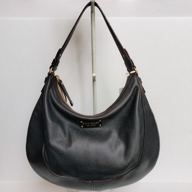Kate Spade Berkshire Ro<br /> Black Leather Shoulder<br /> NWT! Retail $325