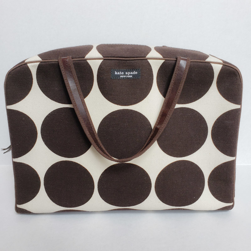 Kate Spade Madison<br /> Brown Dot Print<br /> NWT<br /> Original Retail $285
