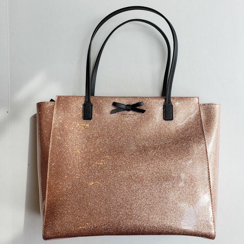 Kate Spade<br /> Pink Glitter<br /> Tote<br /> NEW!