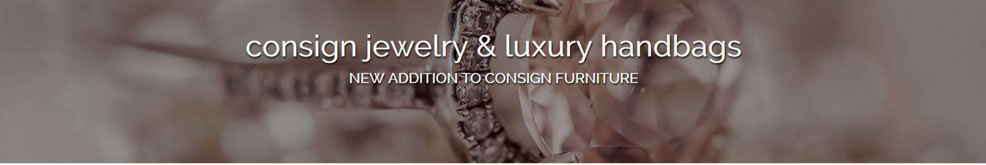 Consign Jewelry - Liberty Lake's banner image.
