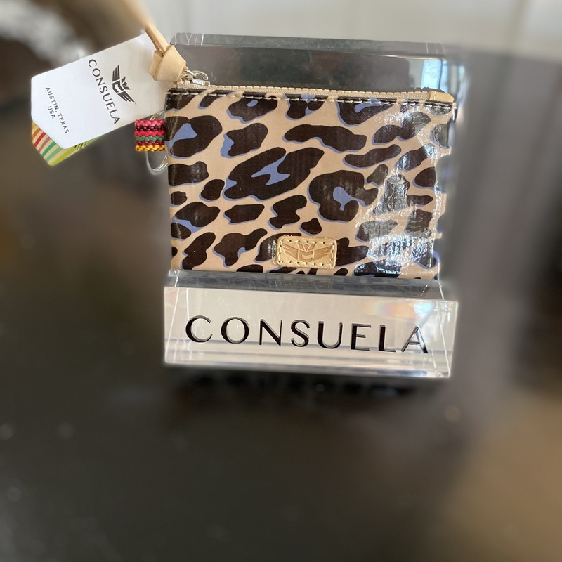 Consuela Teeny Slim Wallet Blue Jag