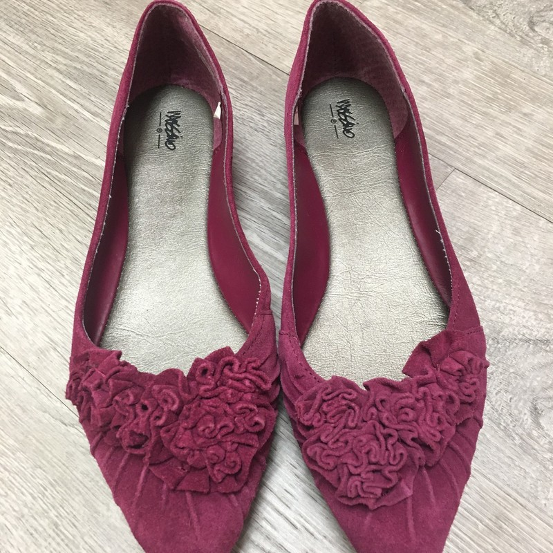 Mossimo Flats, Plum, Size: 7.5 new without box