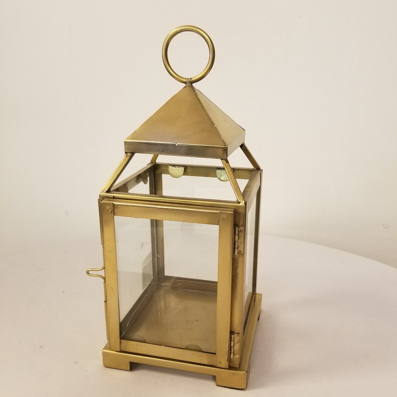 "Lantern, Gold, Size: 12""<br /> 2 More Available In Store"