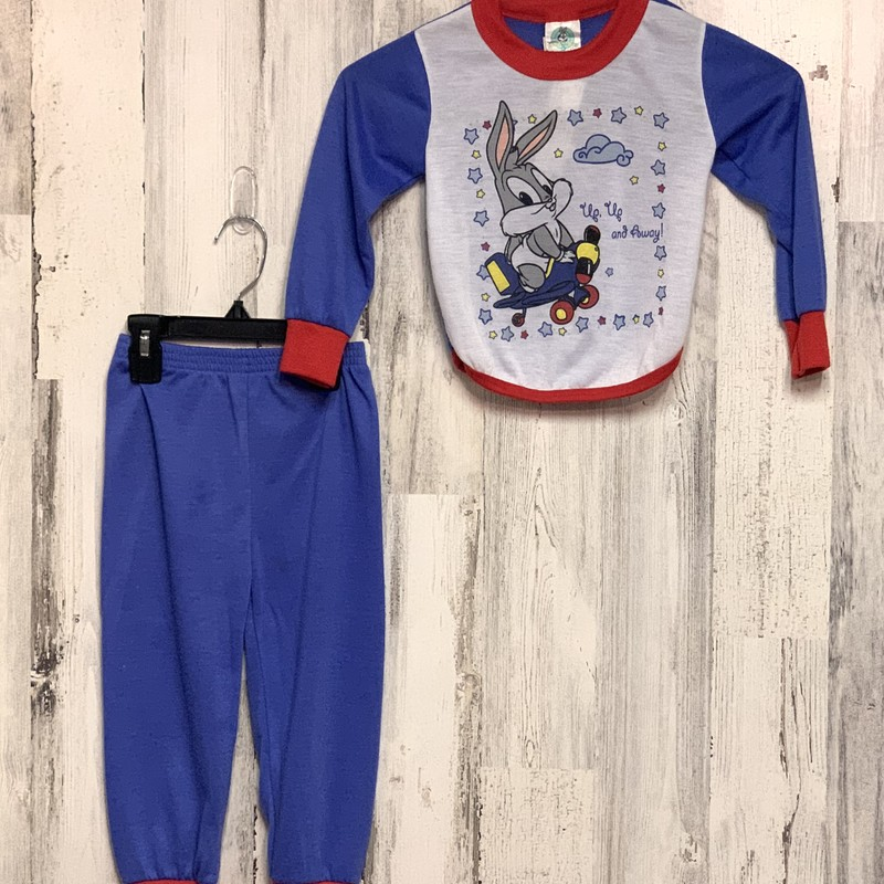 Looney Toons, Blue, Size: 3T
