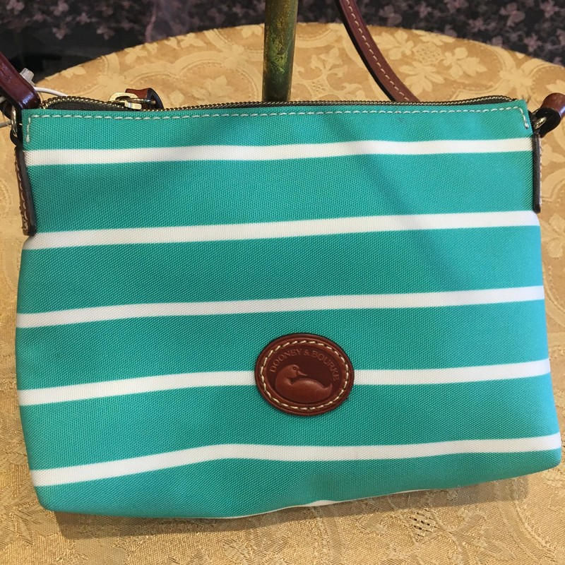 Stripe Crossbody Bag.