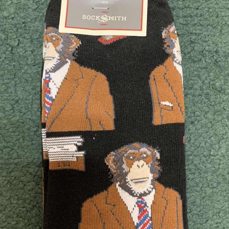 Monkey Business!<br /> Color: Black Brown print