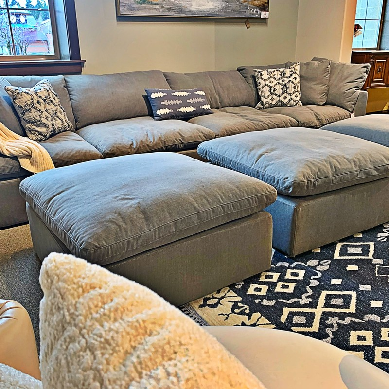 7pc Modular Sectional, None, Size: KLHH<br /> #modular #sectional #ottoman #new