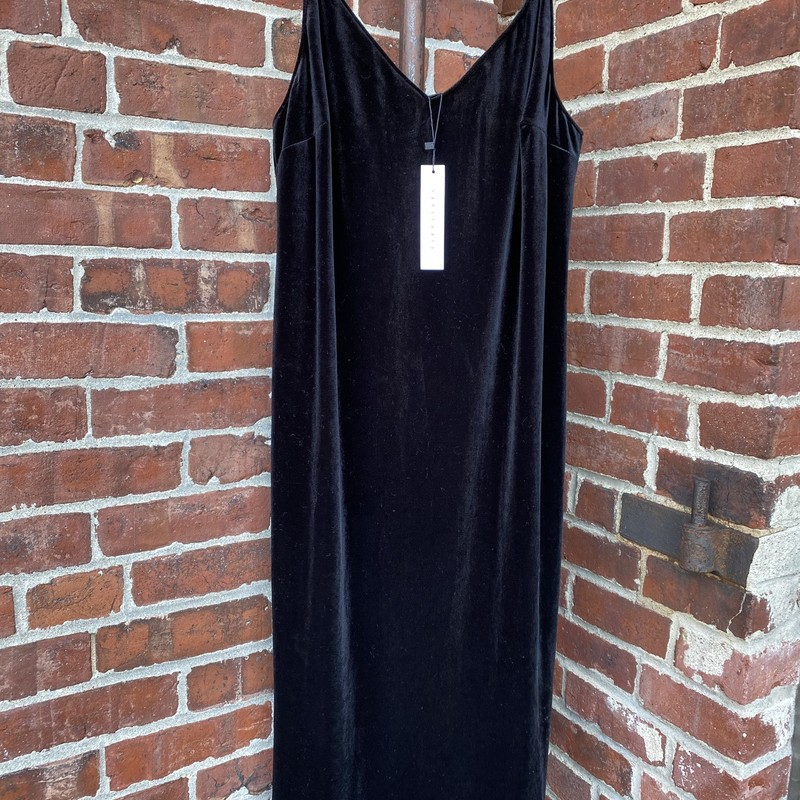 Sanctuary Velvet Dress NW, Black, Size: Large<br /> Brand new velvet tank dress