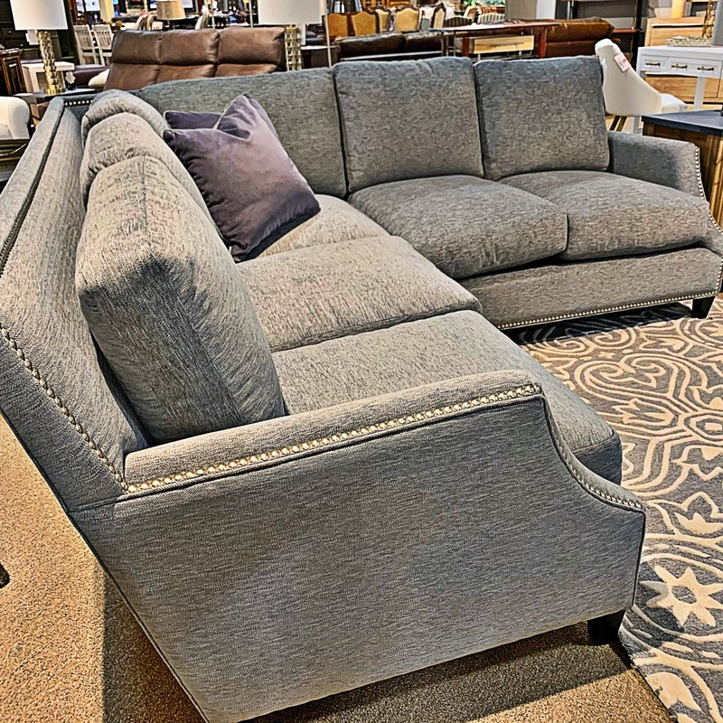 2pc Fabric Sectional, B27, Size: AIHH<br /> #new #omnia #sectional #living
