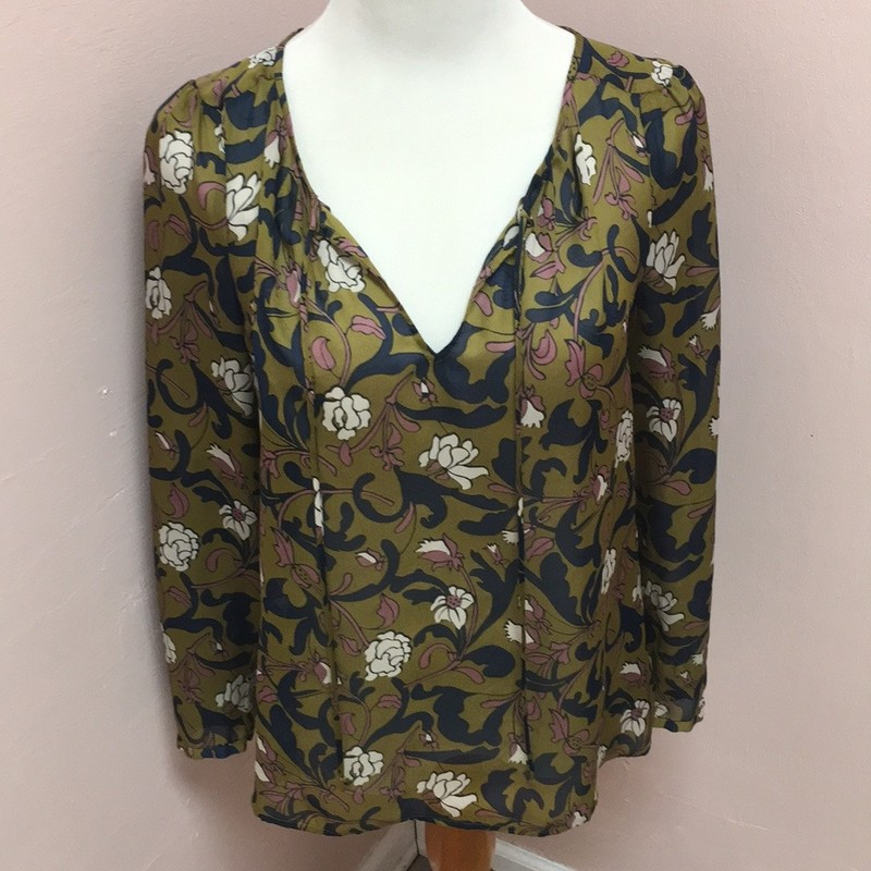 LOFT Blouse, Floral, Size: MP