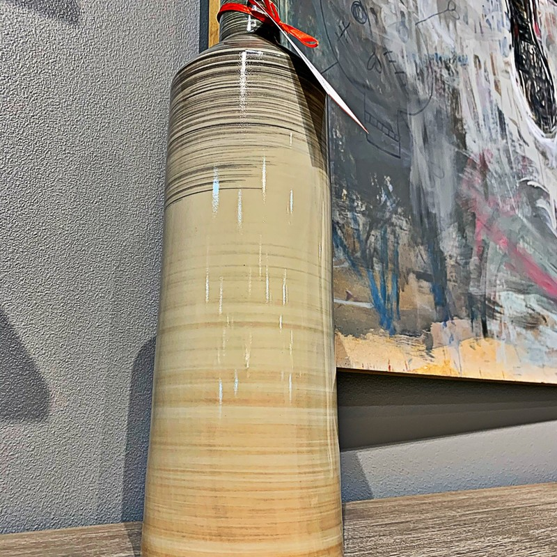 Ombre Bottle Vase.