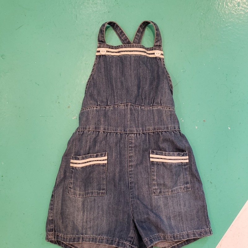 Polo Denim Shortalls.
