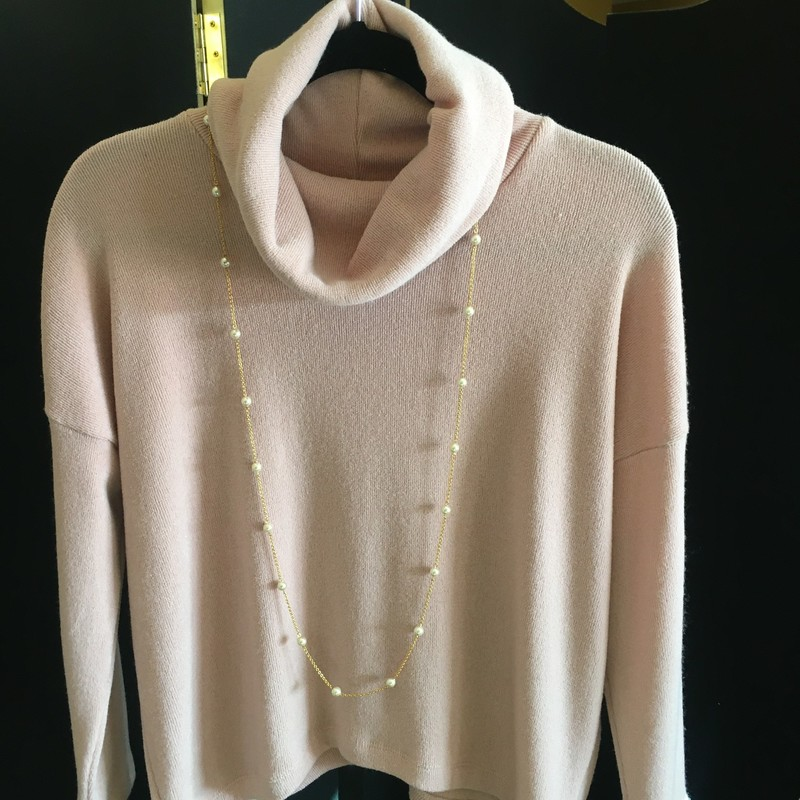 Cowlneck Sweater.