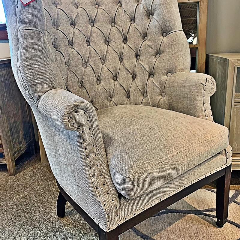 Tufted Club Chair, 6423UP, Size: THH<br /> #essentials #living #club #tufted #chair