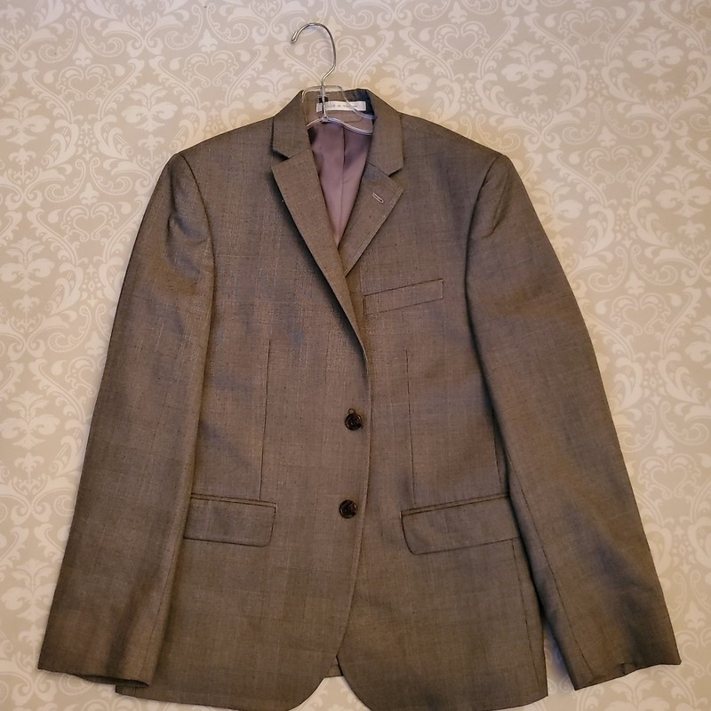 Ralph Lauren Suit Jacket, Grey, Size: 16