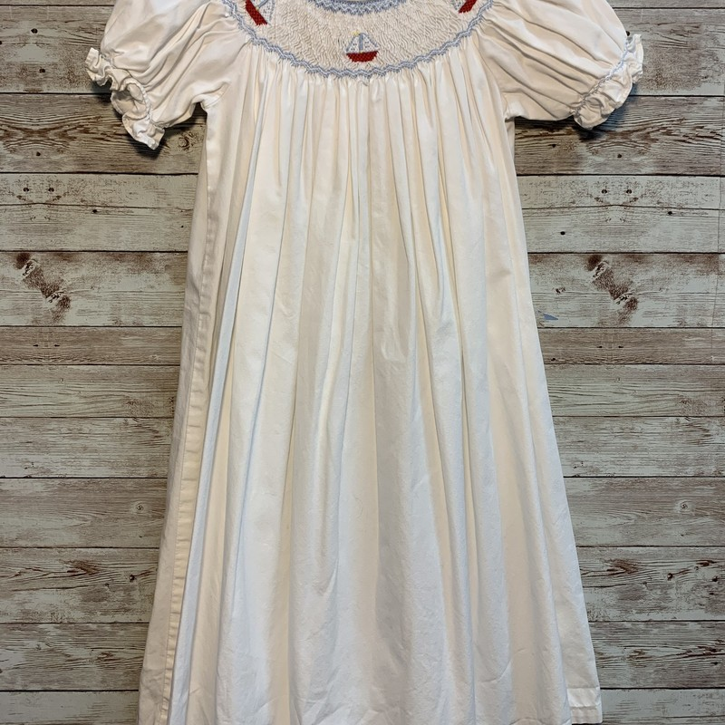 Little Engl Smocked Dress.