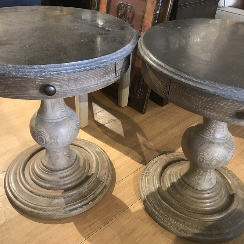 Table End Arhaus, Wood, Size: 26x29<br /> Matching End Table available: #81990 $449.00