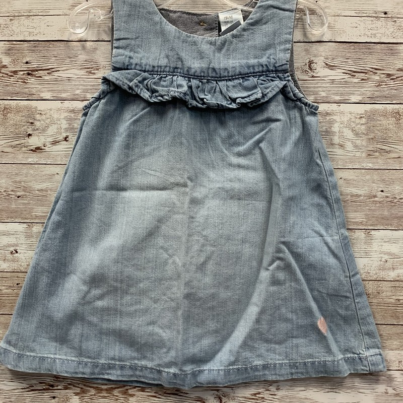 H & M Denim Dress NWT.