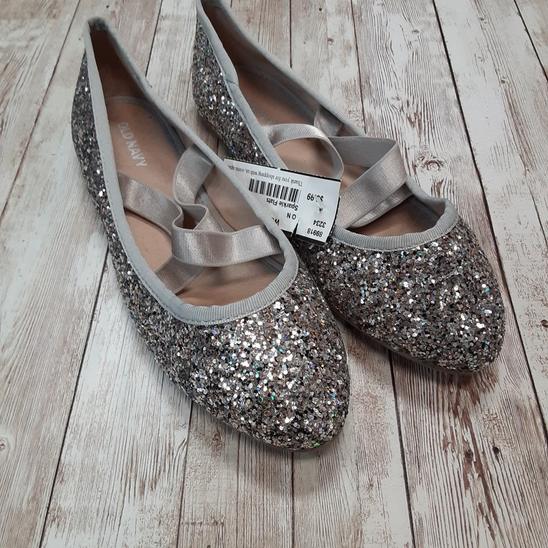 Old Navy Sparkle Flats.