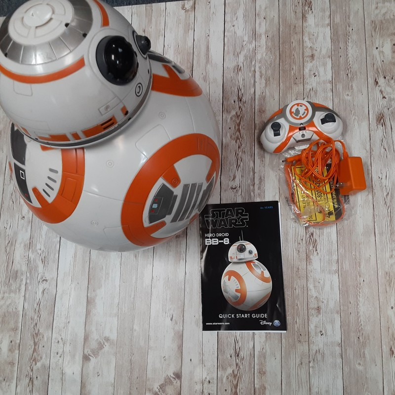 Spinmaster Bb8 Hero Set.