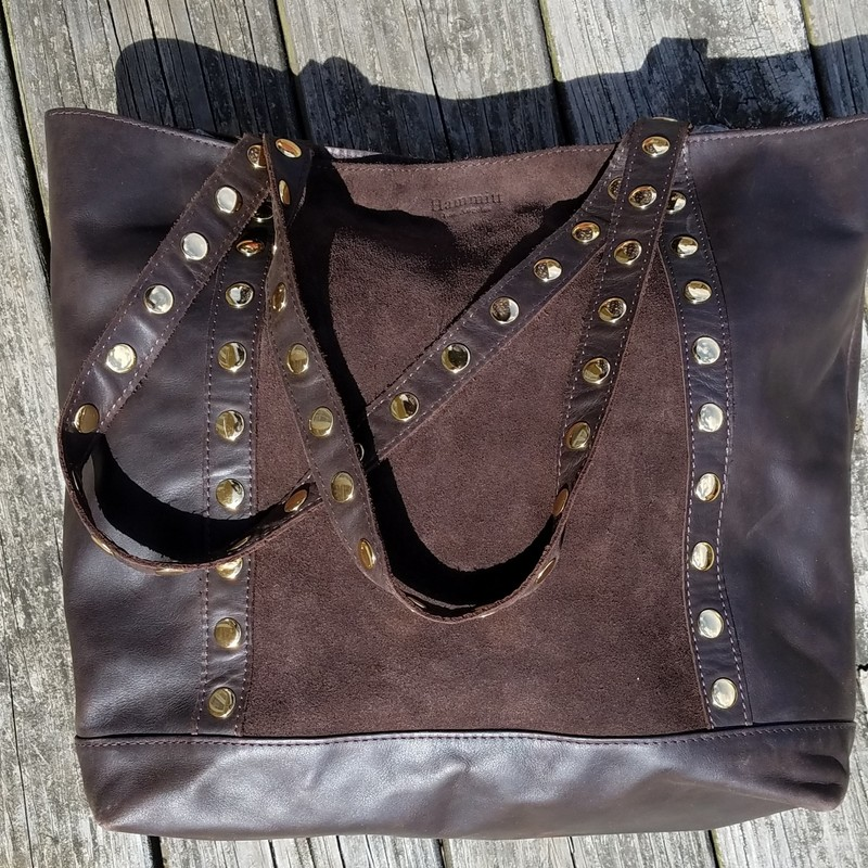 LEATHER BAG(530).