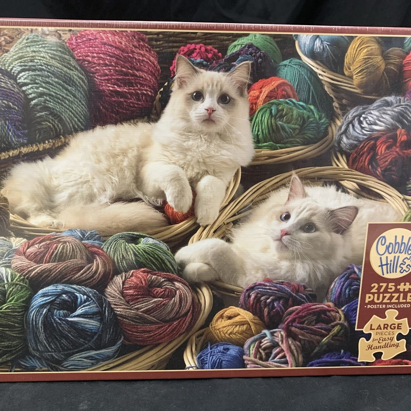 Ragdolls Cat Puzzle, 275 Piece Puzzle<br /> Large pieces for easy handling