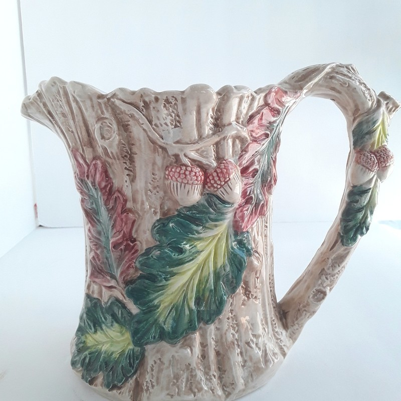 "Add this Cottage Style Pitcher to your collection.<br /> Measures 8"" x 7""<br /> For in store pick-up only"