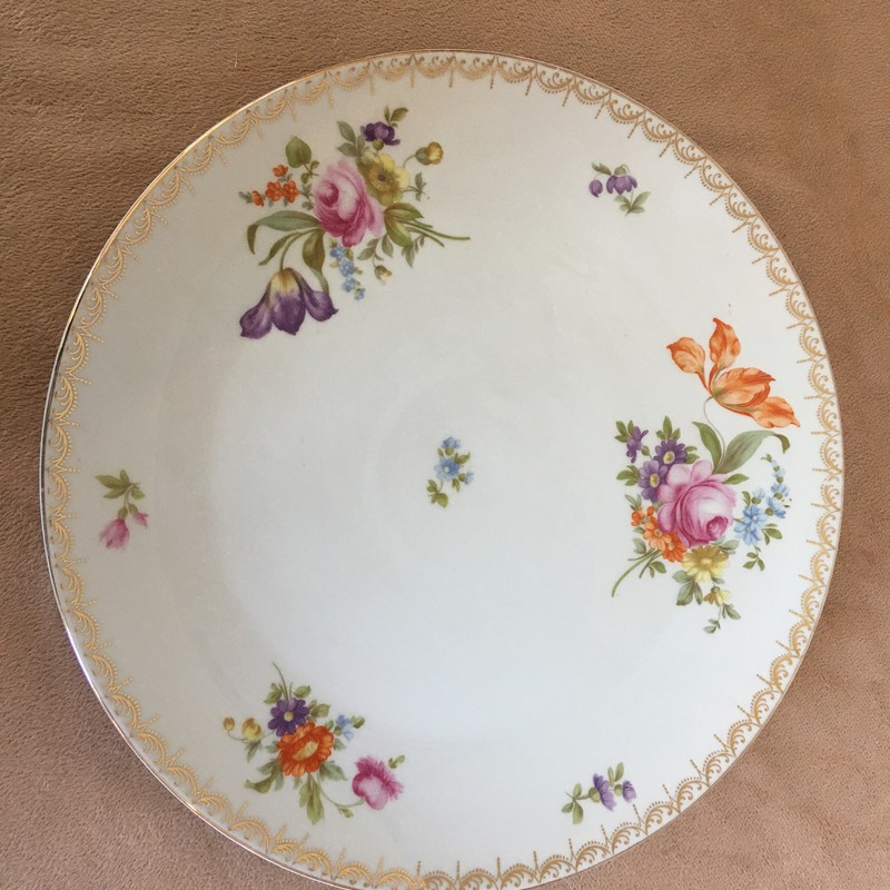 Rosenthal cake platter. No chips; beautiful condition!