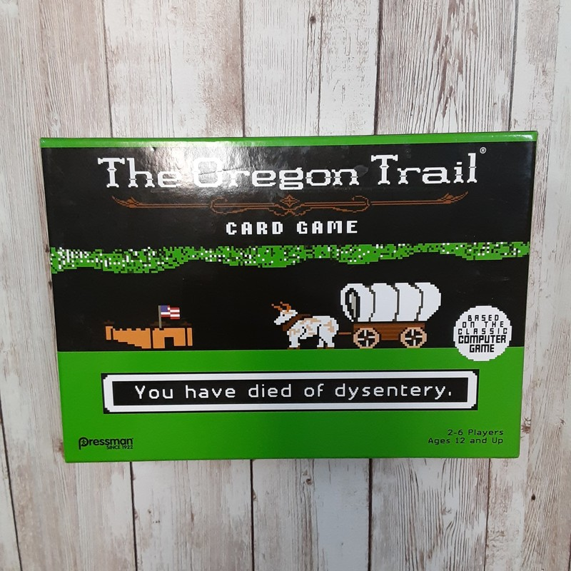 Oregon Trail Game.