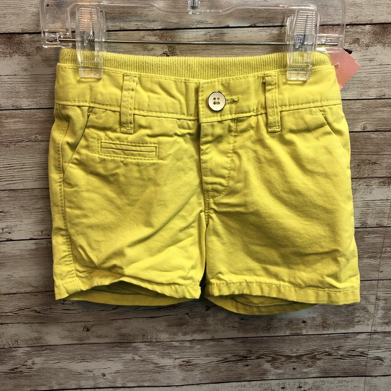 Gap Shorts, Lime, Size: 6/12m Boys