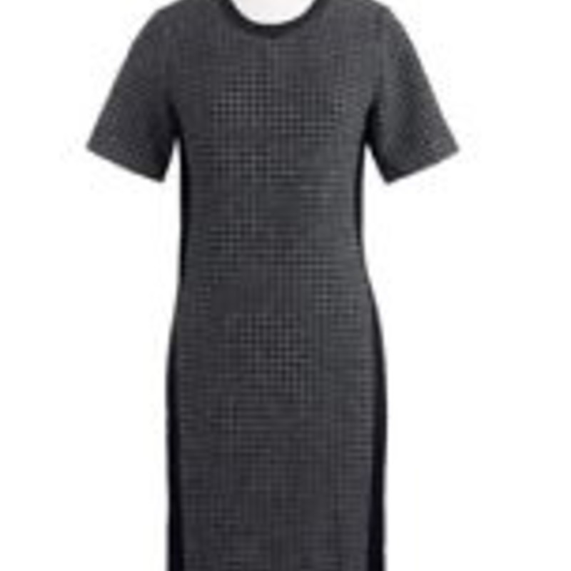 J. Crew NWT Mixed houndstooth dress size 00<br /> &quot; Straight silhouette. Falls above knee, 35 1/2&quot; from high point of shoulder (based off size 6).&quot;<br /> <br /> &quot;Houndstooth tweed and leather trim get paired with stretchy, structured side panels, making this dress both polished and comfy—just what we want, whether it&#039;s the weekend or the workweek.<br /> <br />     Wool/nylon, with leather trim.<br />     Exposed back zip.<br />     Lined.<br />     Professional leather dry clean only.<br />     Import.&quot;<br /> <br /> Photo and description credits: Jcrew.com
