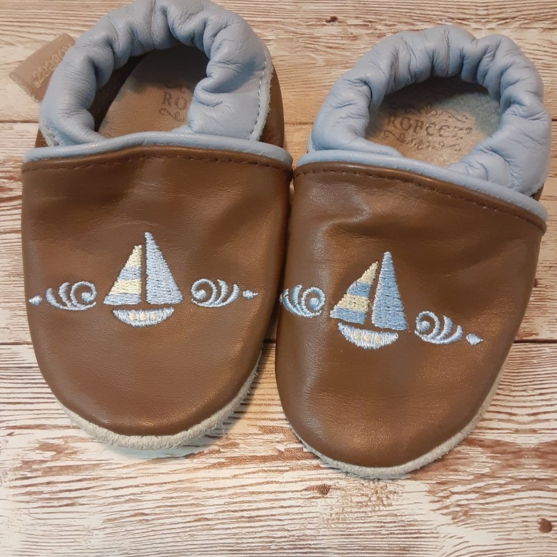 Robeez Sailboat Booties.