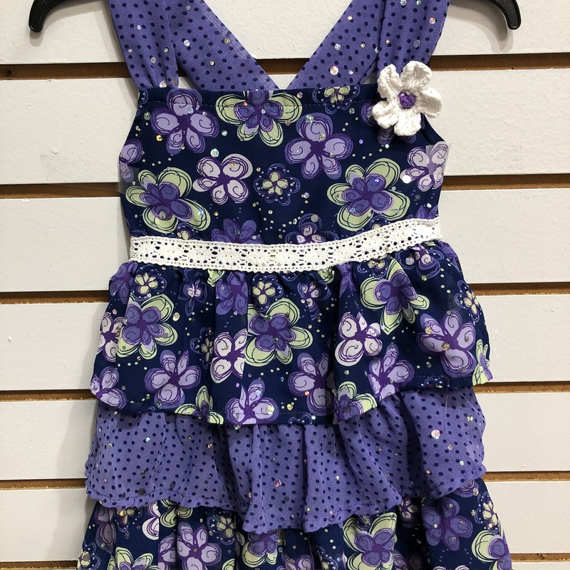 Little Lass, Purple, Size: 4T