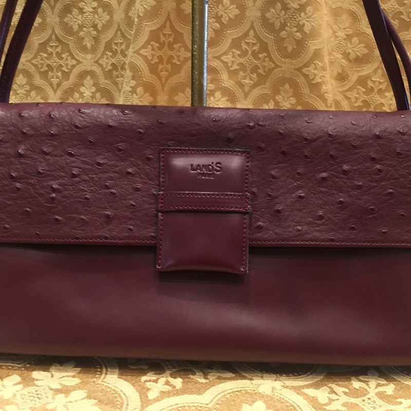 Leather Bag From Paris.