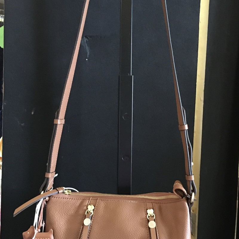 NWT Leather Cross Body.