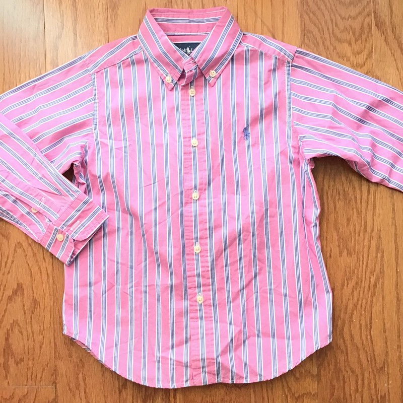 Ralph Laren Shirt, Pink, Size: 4<br /> <br /> <br /> <br /> ALL ONLINE SALES ARE FINAL. NO RETURNS OR EXCHANGES. PLEASE ALLOW 1 TO 2 WEEKS FOR SHIPMENT.