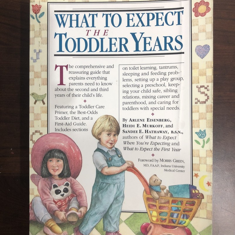What To Expect Toddler Yr.