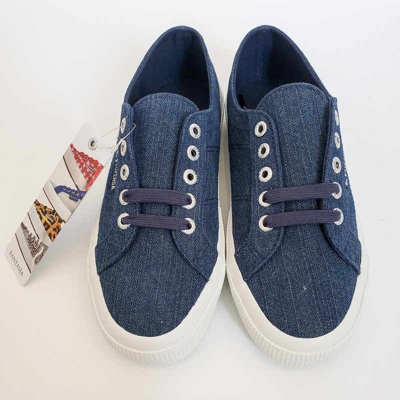 Superga NEW!,<br />  Denim<br /> Size: 6/BOX