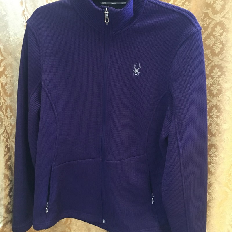 Ladies Thicker Zip Jacket.