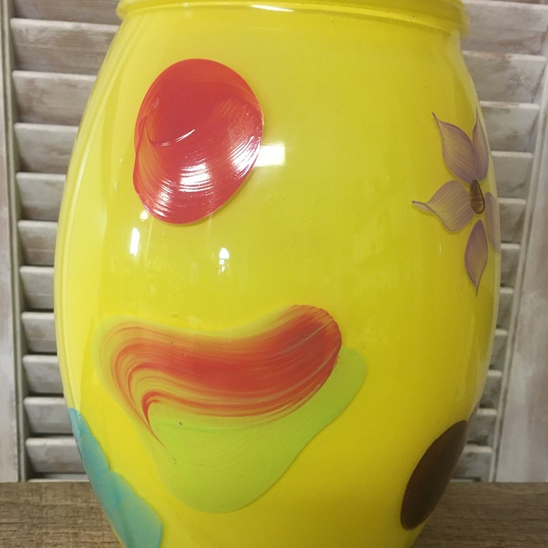 BartlettColins Cookie Jar, Yellow, Size: 1950s<br /> <br /> Choose PICK UP IN STORE at Checkout!<br /> Email contactus@shopconsignmentcottage.com PRIOR to buying  to obtain shipping cost if you prefer shipping.<br /> NOTE: 7% PA sales tax included in price of this item