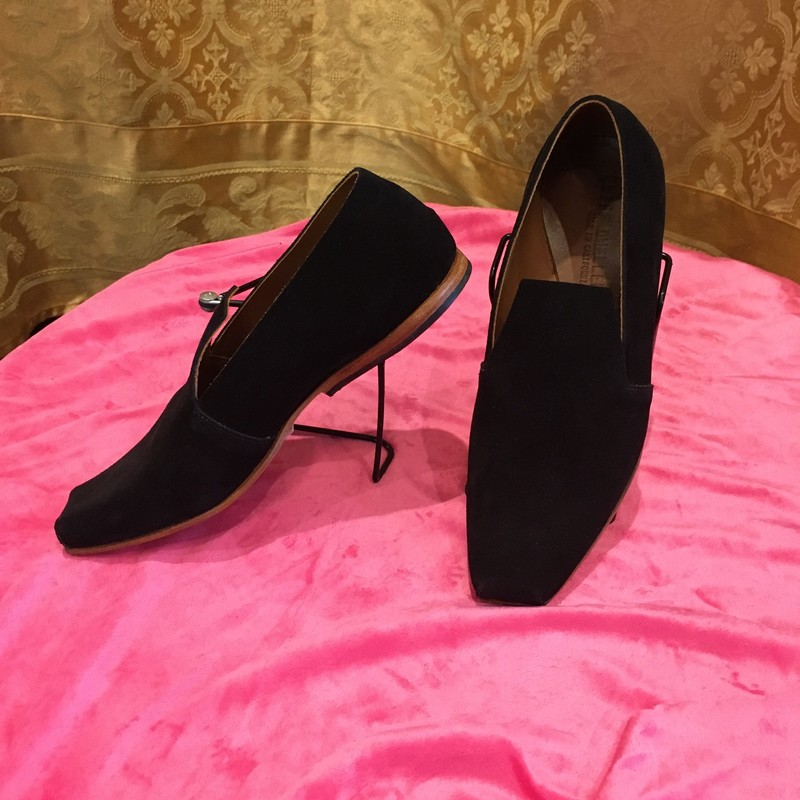 New Handmade Suede Loafer.
