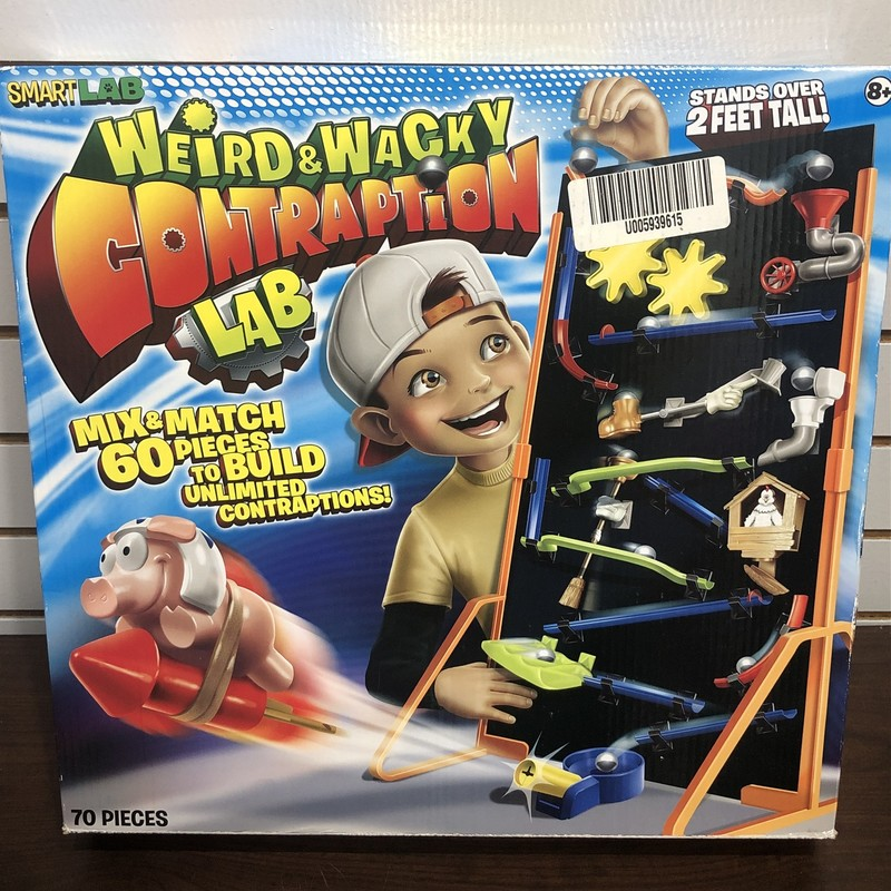 Weird & Wacky Contraption Lab 70 pcs<br /> <br /> Pick up in store only