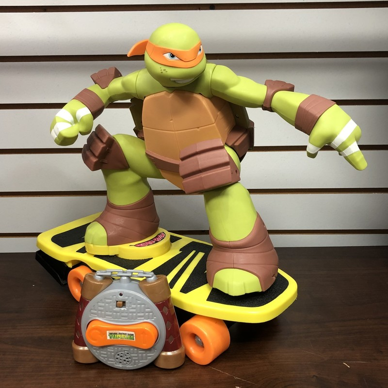 Teenage Mutant Ninja Turtles Remote Control Skateboarding Mikey<br /> <br /> Pick up in store only