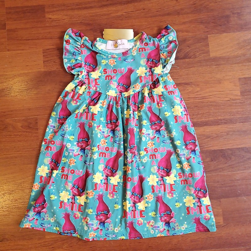 Trolls Dress, Size: 3