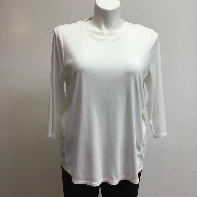 J Howard Top, White, Size: XL